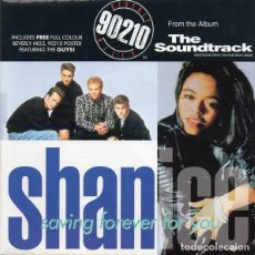 Discos de vinilo: SHANICE - SAVING FOREVER FOR YOU - SINGLE GIANT RECORDS - W01 48W1 - UK 1992 - FUNDA DESPLEGABLE . Lote 146982598