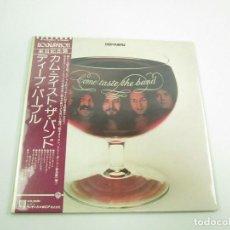 Discos de vinilo: VINILO EDICIÓN JAPONESA DEL LP DE DEEP PURPLE COME TASTE THE BAND. Lote 146983102