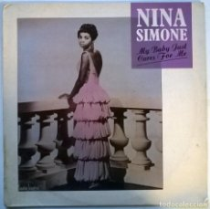 Discos de vinilo: NINA SIMONE. MY BABY JUST CARES FOR ME. CHARLY, UK 1988 MAXI-LP (CYZ112). Lote 146990442