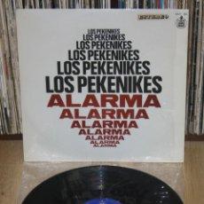 Discos de vinilo: LOS PEKENIKES ALARMA 1969 ORIGINAL SPAIN LP HISPAVOX HH11-165 STEREO POP ESPAÑOL. Lote 146990622