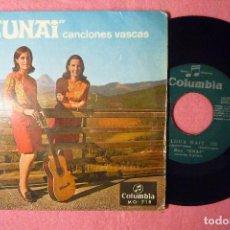 Discos de vinilo: DUO UNAI GALDUA NAIZ SINGLE SPAIN PRESS (EX-/EX-) V. Lote 146992478