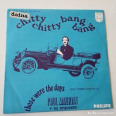 Discos de vinilo: PAUL MAURIAT- CHITTY CHITTY BANG BANG - SPAIN EP 1960.. Lote 146992982
