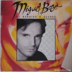 Discos de vinilo: MIGUEL BOSE. DE BANDIDO A DUENDE. LP CON FUNDA INTERIOR CON LETRAS. Lote 146993814