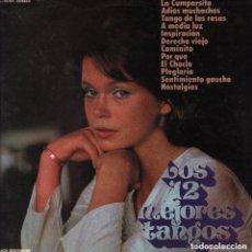 Discos de vinilo: PANCHO Y SU ORQUESTA - LOS 12 MEJORES TANGOS - LP MCA DE 1973 RF-7156, BUEN ESTADO. Lote 146996022