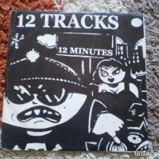 Discos de vinilo: SINGLE 12 CANCIONES. 12 TRACKS 12 MINUTES. TDK, MICRO DISCO, ARTMODE, MXD....COPIA 449 DE 666.. Lote 147010606