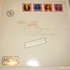Discos de vinilo: LP FREE LIVE. FREE AIR MAIL. ISLAND GERMANY 1971 (DISCO PROBADO Y BIEN, SEMINUEVO). Lote 147016342