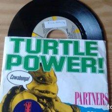 Discos de vinilo: SINGLE (VINILO) DE PARTNERS IN KRYME AÑOS 90. Lote 147021094