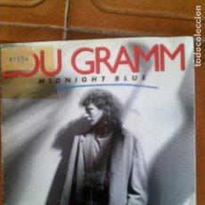 Discos de vinilo: DISCO DEL CANTANTE DE HAOR LOU GRAMM ,MIDNIGHT BLUE. Lote 147021634