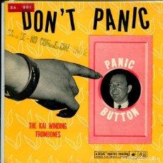 Discos de vinilo: TH EKAI WINDING TROMBONES / DON'T PANIC / A WALTZ ON THE WILD SIDE / THE RAVEN + 1 (EP ORIGINAL USA). Lote 147034742