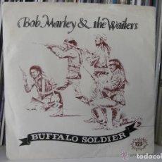 Discos de vinilo: BOB MARLEY - BUFFALO SOLDIER (SG) 1983. Lote 147035326