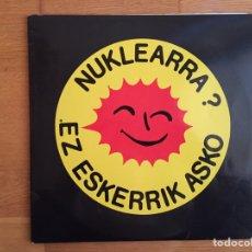 Discos de vinilo: NUKLEARRA? EZ ESKERRIK ASKO. LEMOIZ GELDITU (2LPS). Lote 147040006