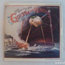 Discos de vinilo: LA GUERRA DE LOS MUNDOS, VERSIÓN MUSICAL DE JEFF WAYNE EN INGLES. DOBLE LP EDICIÓN ESPAÑOLA 1978 CBS. Lote 192908333