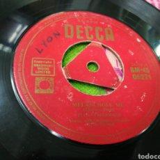 Discos de vinilo: ELLA FITZGERALD SINGLE MELANCHOLY ME INGLSTERRA ESCUCHADO. Lote 147045920