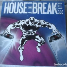 Discos de vinilo: LEX VAN COEVERDEN HOUSE AND BREAK BEATS . Lote 147046430