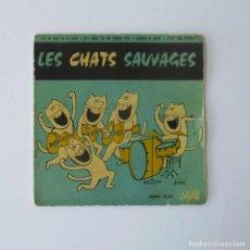 Discos de vinilo: LES CHATS SAUVAGES. Lote 147051442