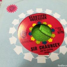 Discos de vinilo: SIR CHAUNCEY SINGLE BEAUTIFUL OBSESSION U.S.A.. Lote 147052024