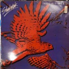Discos de vinilo: SHAKATAK-NIGHT BIRDS=PAJAROS NOCTURNOS. Lote 147052165