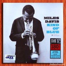 Discos de vinilo: MILES DAVIS - KIND OF BLUE EDICIÓN LIMITADA 180G VINILO AUDIÓFILO LP PRECINTADO. Lote 147053198