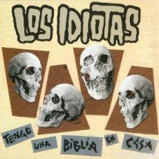 Discos de vinilo: LOS IDIOTAS; TENGO UNA BIBLIA EN CASA + FEELIN´ ALRIGHT + YEAH YEAH. Lote 147054634