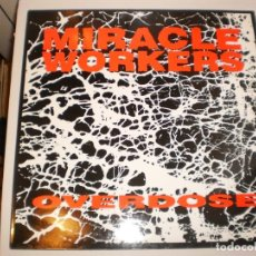 Discos de vinilo: LP MIRACLE WORKERS. OVERDOSE. LOVE'S SIMPLE DREAMS GERMANY (DISCO PROBADO Y BIEN, SEMINUEVO). Lote 147062050