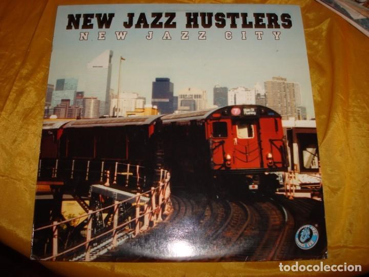 NEW JAZZ HUSTLERS . NEW JAZZ CITY . 2 LP´S. MAXI-SINGLE. 2000. EDC. INGLESA. IMPECABLE. (#) (Música - Discos - LP Vinilo - Techno, Trance y House)