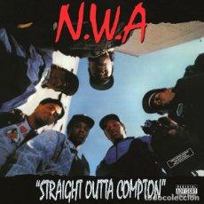 Discos de vinilo: LP N.W.A - STRAIGHT OUTTA COMPTON. Lote 147065010