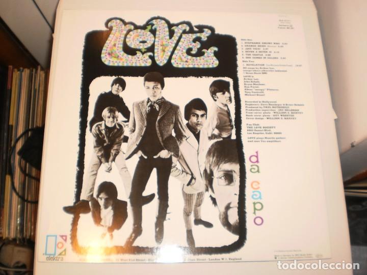 Discos de vinilo: lp love. da capo. elektra germany sin año de edición (disco probado y bien, seminuevo) - Foto 2 - 147071594