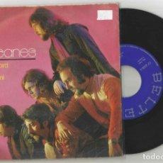 Discos de vinilo: LOS HURACANES: MY SWEET LORD + PIENSA EN MI. Lote 147072390