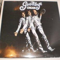 Discos de vinilo: LP CREAM. GOODBYE. RSO 1989 SPAIN (DISCO PROBADO Y BIEN, SEMINUEVO). Lote 147072482