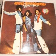 Discos de vinilo: LP THE HUES CORPORATION. ROCKIN' SOUL.RCA 1975 SPAIN (DISCO PROBADO Y BIEN). Lote 147074738