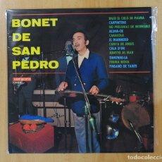 Discos de vinilo: BONET DE SAN PEDRO - BONET DE SAN PEDRO - LP. Lote 147077225