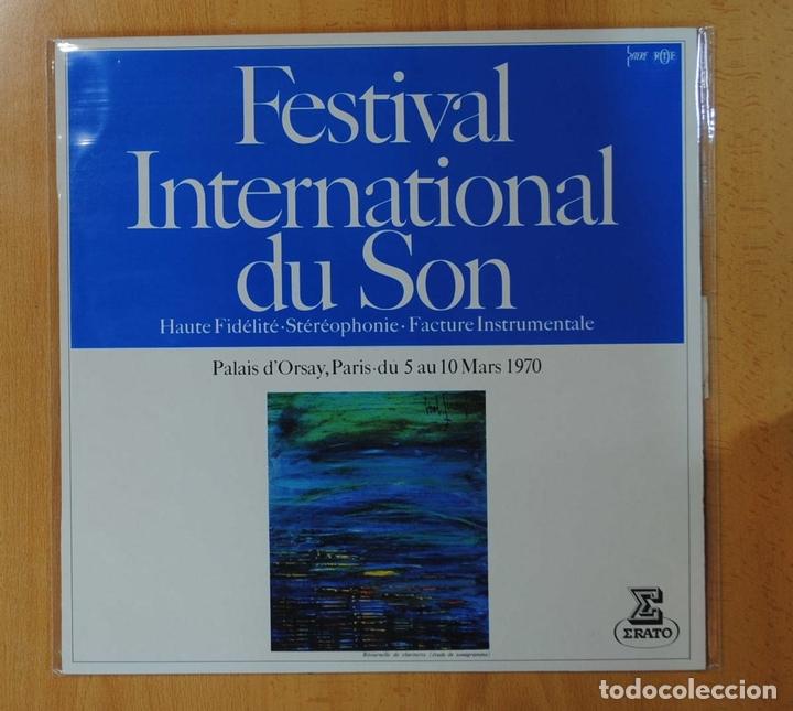 VARIOS - FESTIVAL INTERNATIONAL DU SON - LP (Música - Discos - LP Vinilo - Otros Festivales de la Canción)