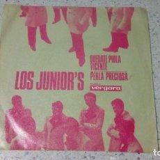 Discos de vinilo: VINILO LOS JUNIOR´S QUEDATE PIOLA VICENTE / PERLA PRECIOSA VERGARA . Lote 147079670