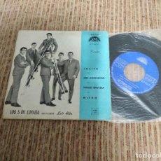 Discos de vinilo: LOS 5 DE ESPAÑA / JULITA / EP 45 RPM / BERTA 1967. Lote 147092146