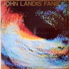 Discos de vinilo: JOHN LANDIS FANS : TRISKADEIKADELICA [ESP 1988] MINI-LP/1ST EDITION/FIRMADO. Lote 147093334