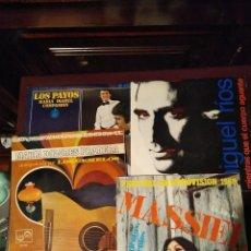 Discos de vinilo: LOTE DE SINGLES MÚSICA ESPAÑOLA - PERET, MIGUEL RÍOS, MASSIEL, LOS PAYOS, MARÍA DOLORES PRADERA. . Lote 147102894