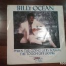 Discos de vinilo: BILLY OCEAN-WHEN THE GOING GETS TOUGH,THE TOUGH GET GOING.THE JEWEL OF THE NILE. Lote 147104470
