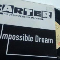 Discos de vinilo: SINGLE (VINILO) -PROMOCION-DE CARTER AÑOS 90. Lote 147123338