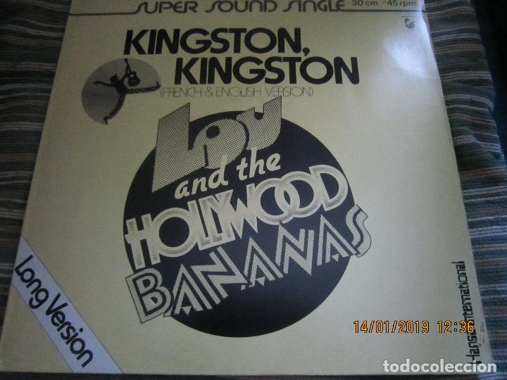Discos de vinilo: LOU AND THE HOLLYWOOD BANANAS - KINGSTON KINGSTON MAXI 45 SUPER SOUND SINGLE - HANSA 1979 - ALEMAN - Foto 7 - 147123814
