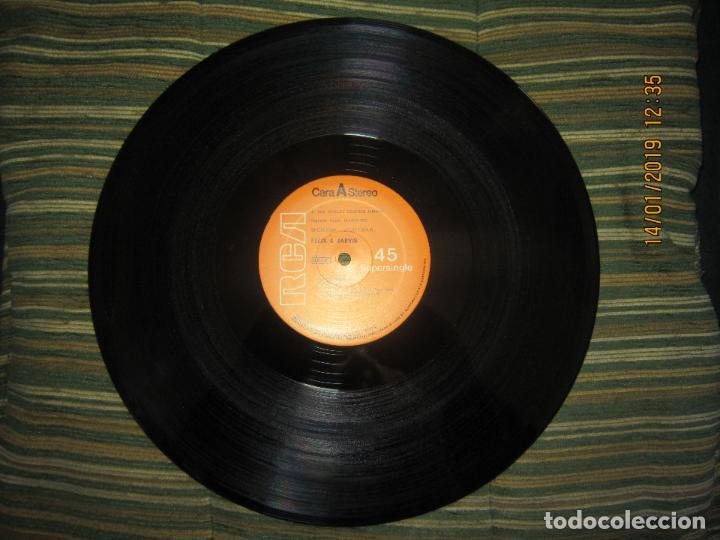 Discos de vinilo: FELIX & JARVIS - FLAMETHROWER RAP - MAXI 45 R.P.M. RCA 1982 ORIGINAL ESPAÑOL - - Foto 3 - 147124882