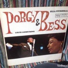 Discos de vinilo: ELLA FITZGERALD/LOUIS ARMSTRONG - PORGY & BESS LP 1965 GERMANY VERVE RECORDS.. Lote 147126506