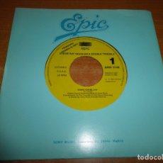 Discos de vinilo: STEVIE RAY VAUGHAN & DOUBLE TROUBLE SHAKE FOR ME SINGLE VINILO PROMOCIONAL ESPAÑA 1992 1 TEMA. Lote 52326323