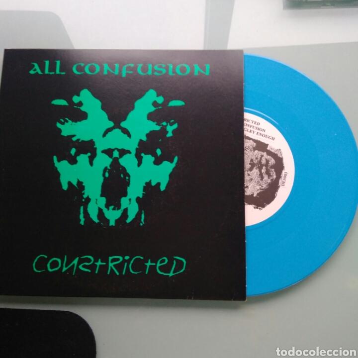 CONSTRICTED – ALL CONFUSION (THRASH/PUNK) (Música - Discos - Singles Vinilo - Punk - Hard Core)