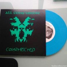 Discos de vinilo: CONSTRICTED – ALL CONFUSION (THRASH/PUNK). Lote 147127734