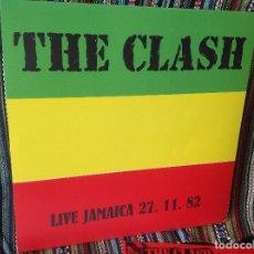 Discos de vinilo: THE CLASH - LIVE JAMAICA 27/11/82 - LP THE CLASH. REGGAE , SKA , DUB.. Lote 147127846