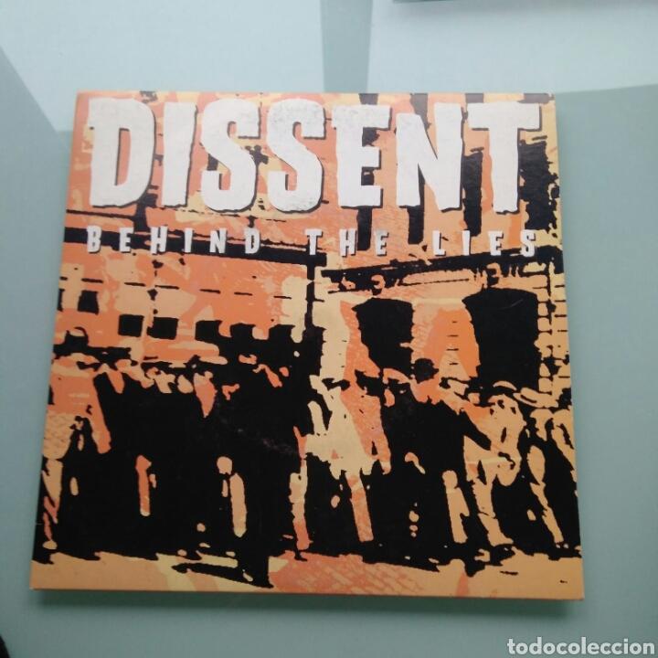 DISSENT – BEHIND THE LIES (BADMAN, CZECH REPUBLIC) (Música - Discos - Singles Vinilo - Punk - Hard Core)