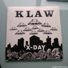Discos de vinilo: KLAW – X-DAY. Lote 147131878