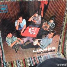 Discos de vinilo: LOS NAUFRAGOS - OTRA VEZ EN LA VÍA - ORIGINAL CBS ARGENTINA 1969.. Lote 147133478