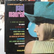 Discos de vinilo: LE GRAND ORCHESTRE DE PAUL MAURIAT - LP. DEL SELLO PHILIPS DE 1967. Lote 147134882