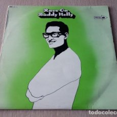 Discos de vinilo: BUDDY HOLLY – RAVE ON VINYL, LP, COMPILATION, MONO ROCK & ROLL. Lote 147137542